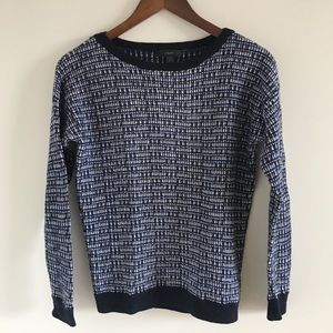 J. Crew Merino Wool Tweed Pullover Sweater Sz S